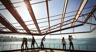 Escalada al puente de Sídney