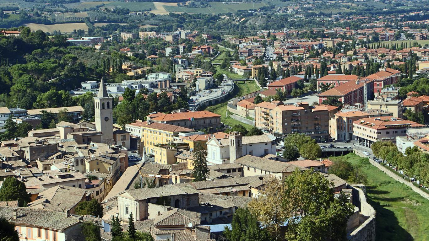 Alquiler de autos en Spoleto