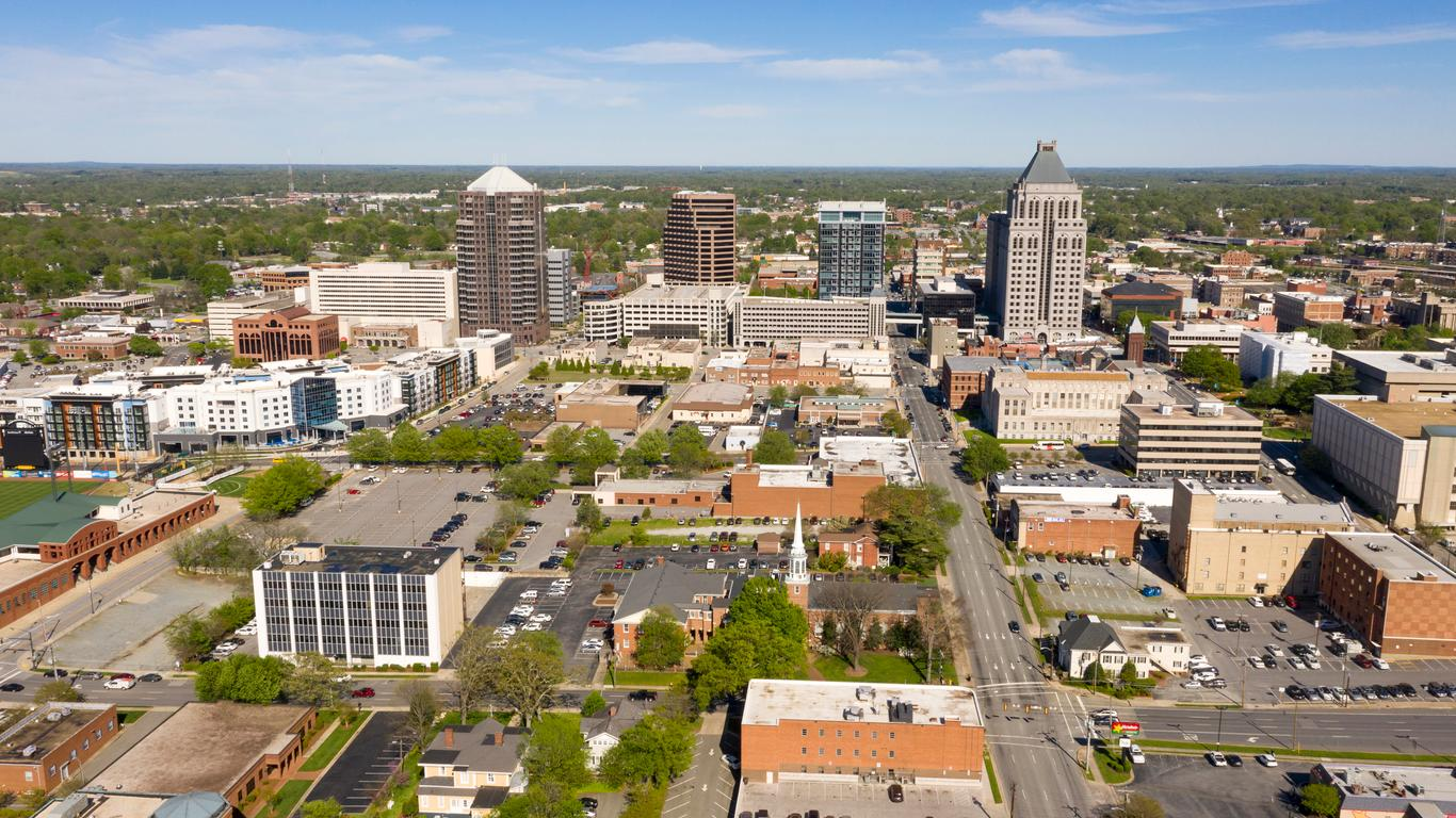 Greensboro - Ενοικίαση αυτοκινήτου