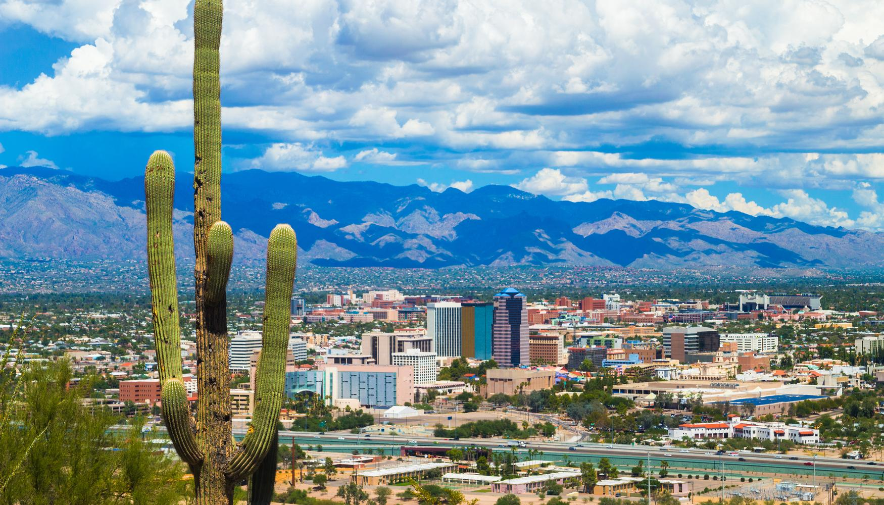 Car rental at Tucson Airport