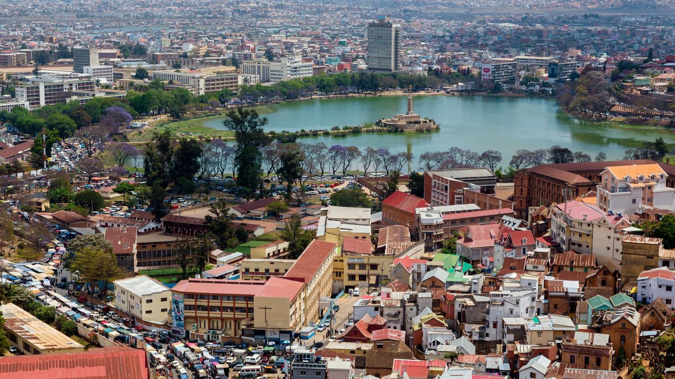 Coches de alquiler en Antananarivo