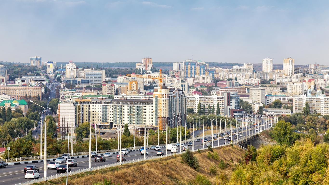Aluguel de carro em Aeroporto de Belgorod