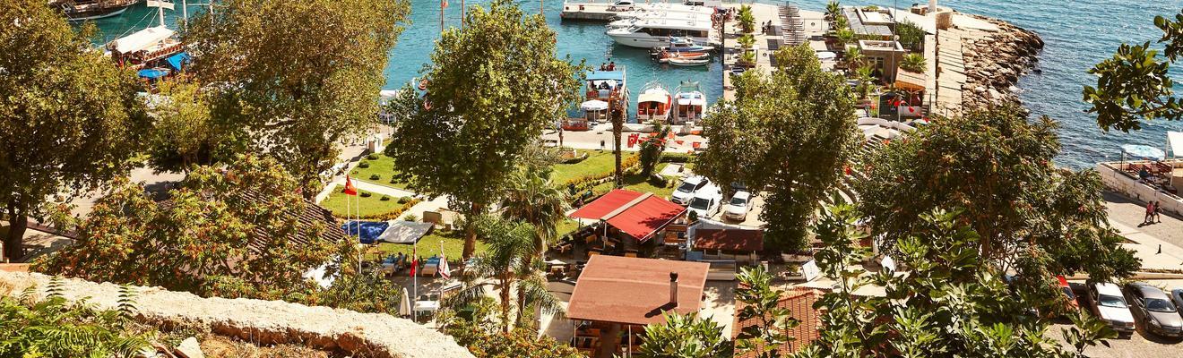 Ξενοδοχεία στην πόλη Αντάλια