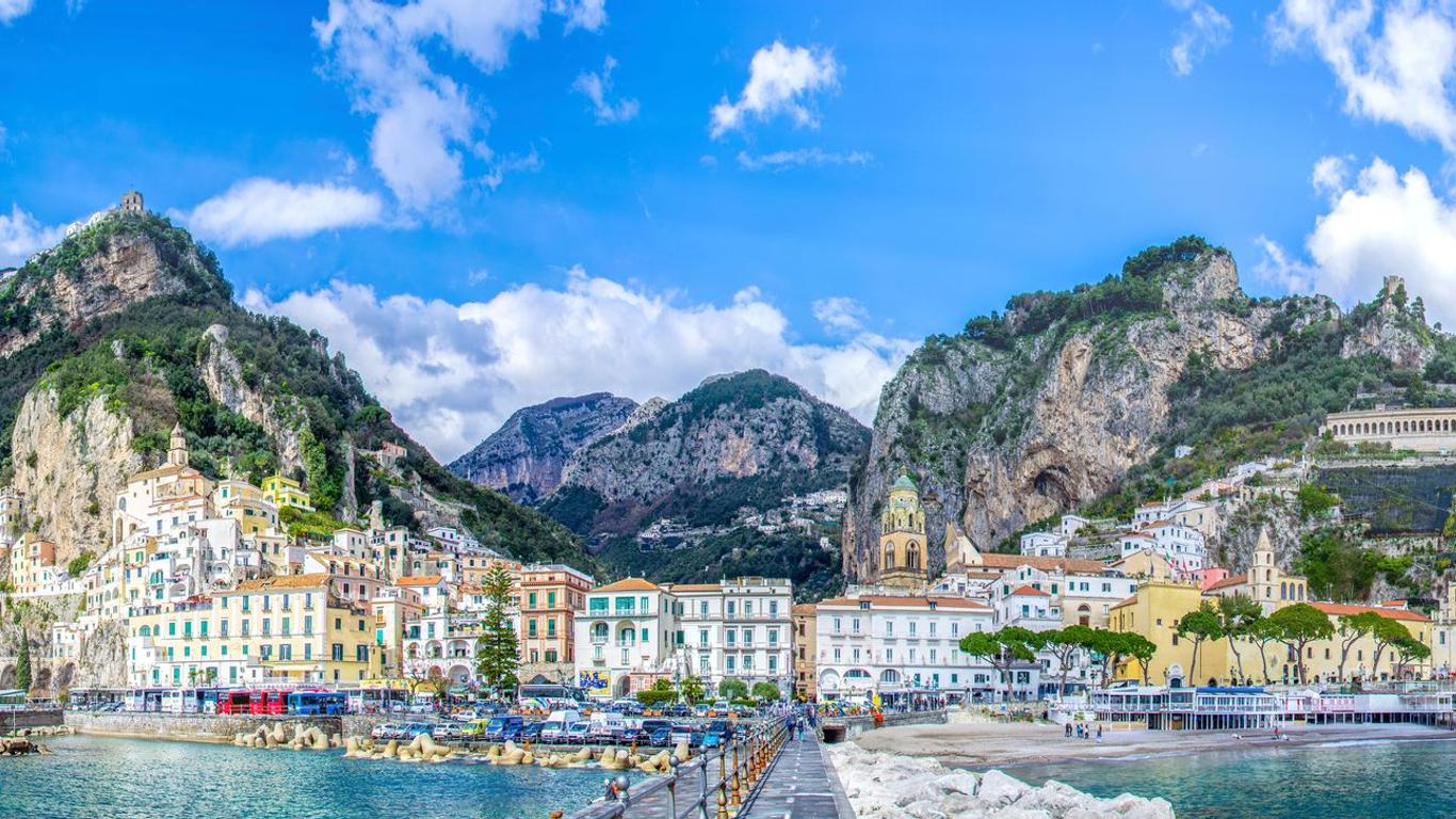 Alquiler de autos en Amalfi