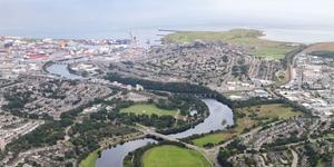 Hyrbil i Aberdeen