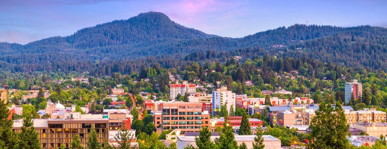 Alquiler de autos en Eugene