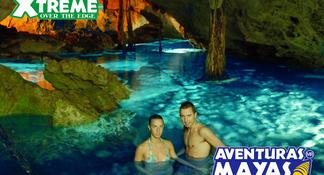 Excursión por la selva en Playa del Carmen: Tulum, buceo de superficie en cenote, paseo en 4x4 y tirolina