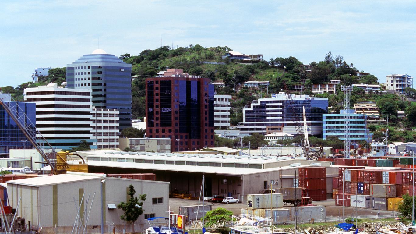 Alquiler de autos en Puerto Moresby