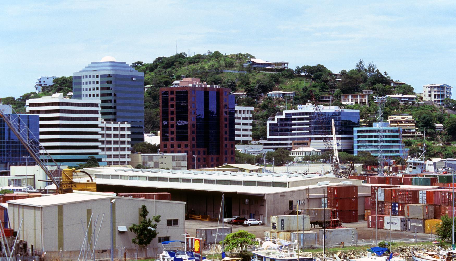 Mietwagen am Flughafen Port Moresby