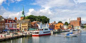 Hyrbil i Flensburg