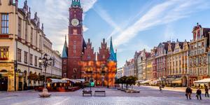 Coches en Wrocław