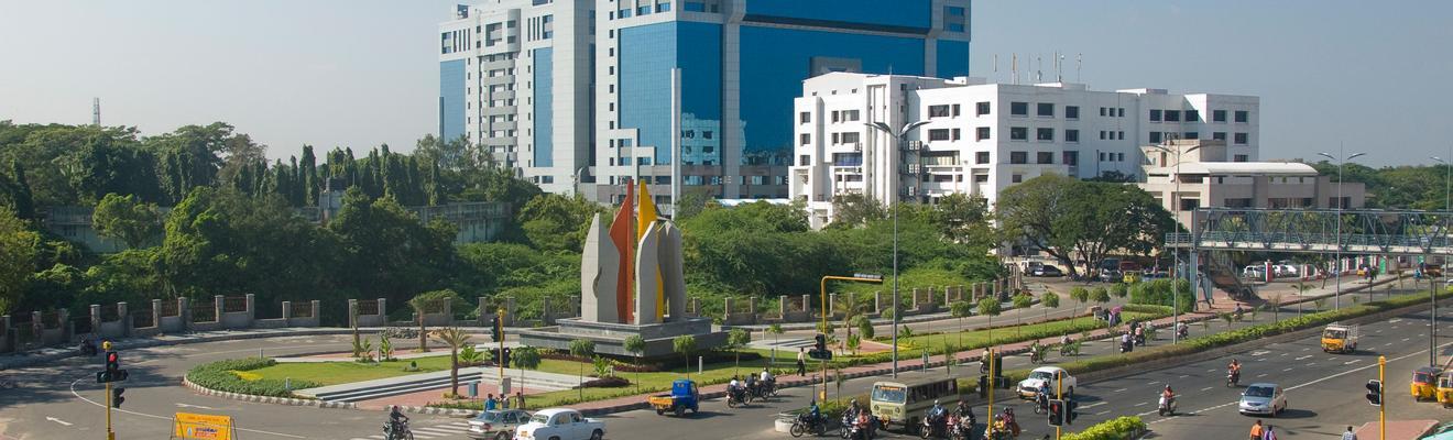 Ξενοδοχεία στην πόλη Τσεννάι