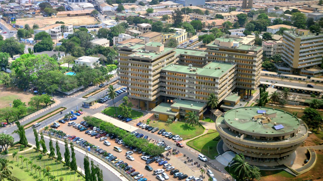 Coches de alquiler en Lomé