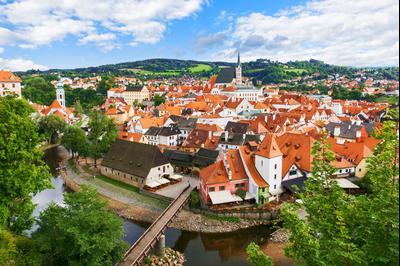 Ξενοδοχεία στην πόλη Český Krumlov