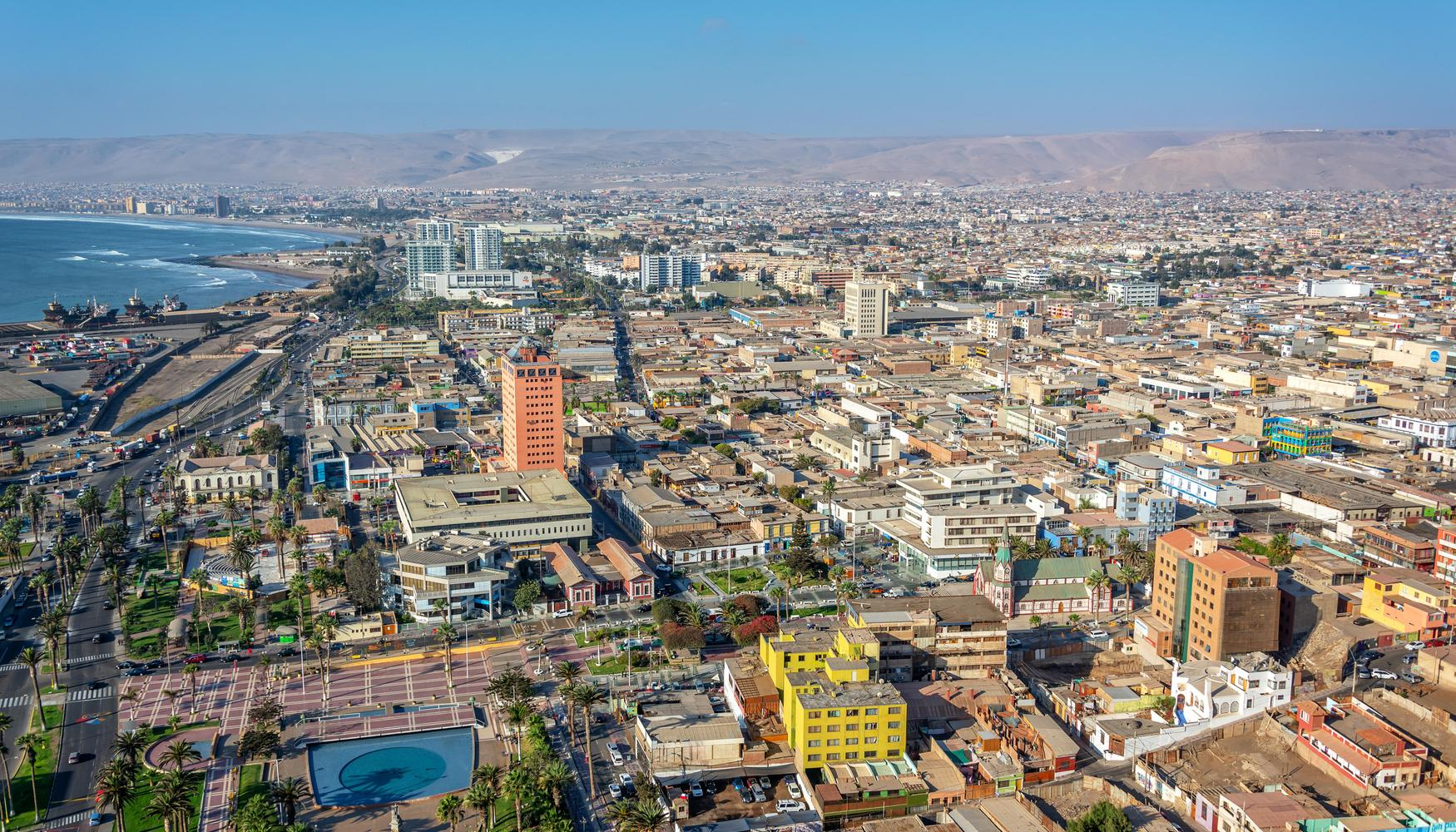 Car hire at Arica Chacalluta Airport