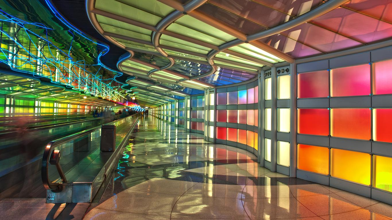 Car hire at Chicago O'Hare Intl Airport