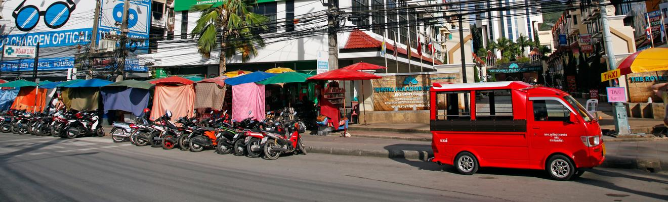 Patong hotellia
