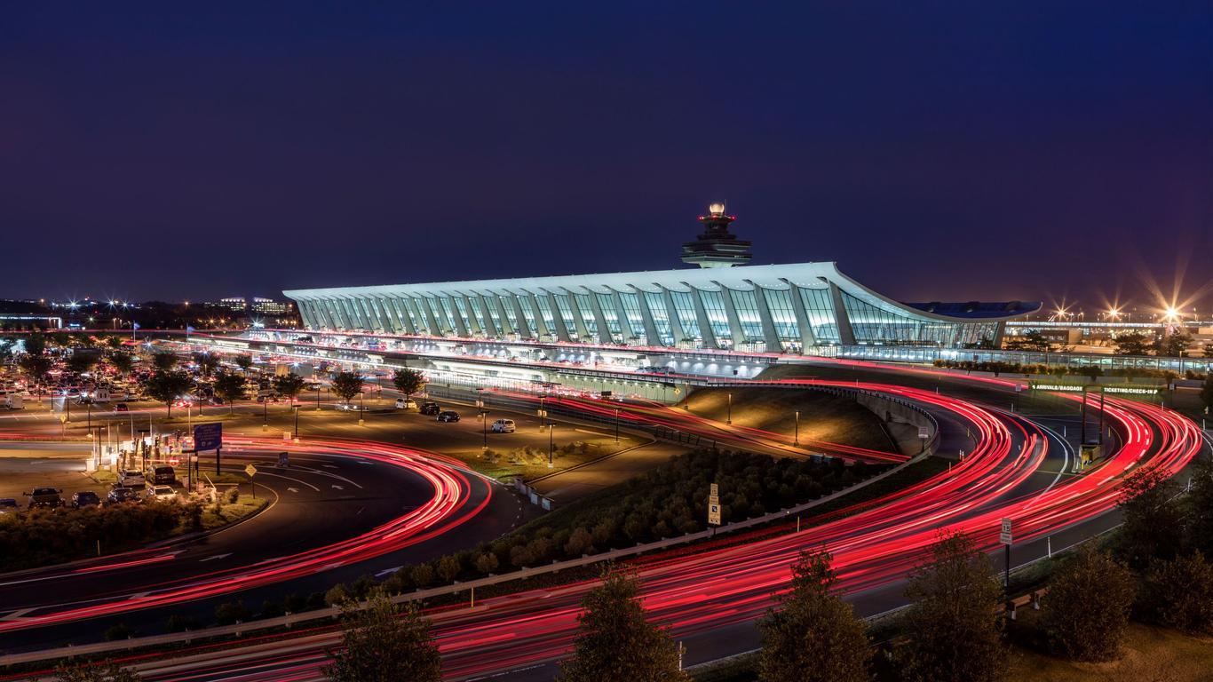 Hyrbilar på Washington, D.C. Dulles Intl flygplats