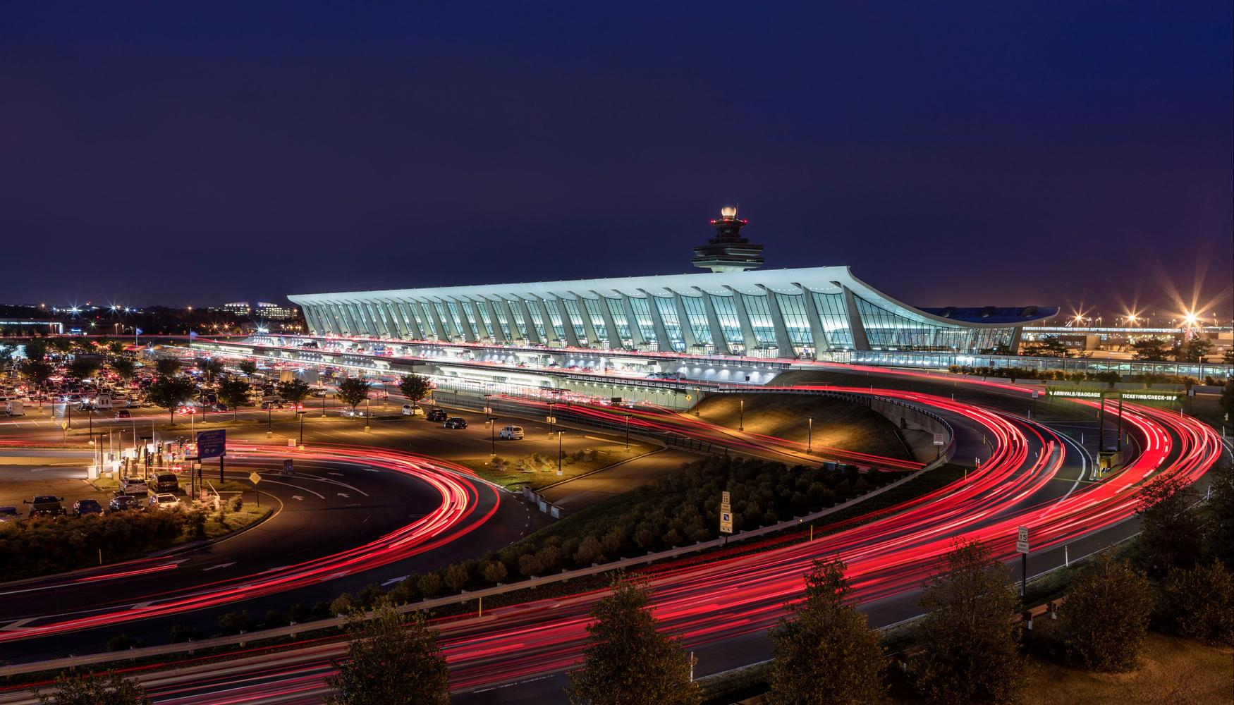 Car rental at Washington Dulles Intl Airport