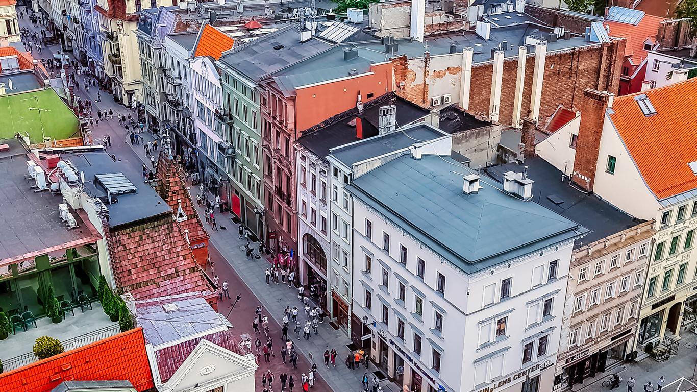 Coches de alquiler en Toruń