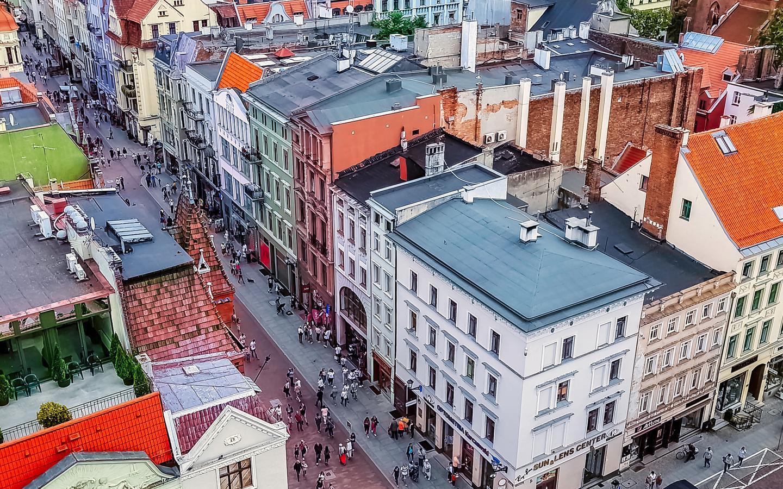 Hotele: Toruń