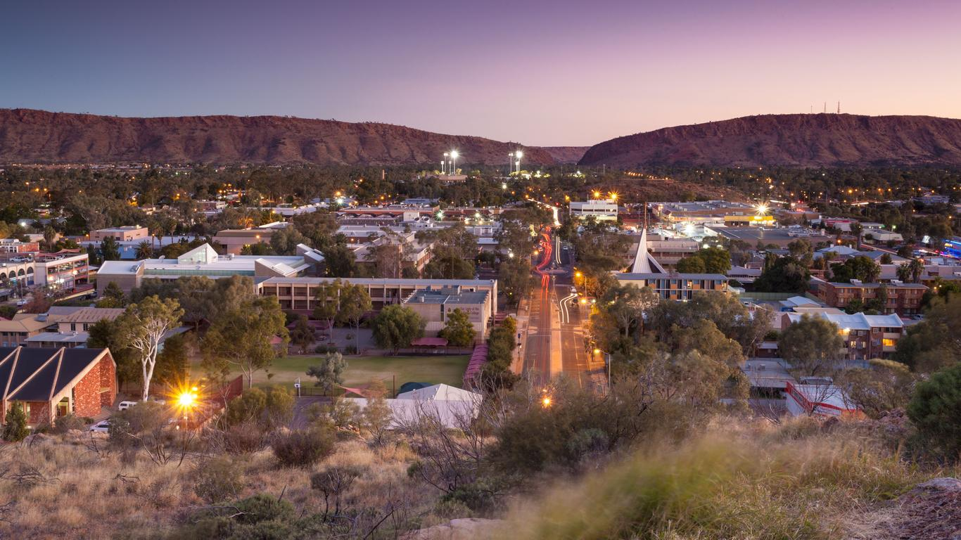 Alice Springs autoverhuur