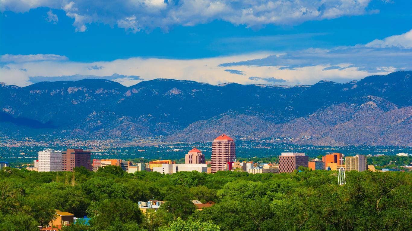 Pronájem aut Albuquerque