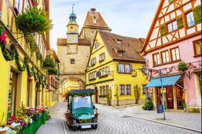 Rothenburg ob der Tauber hoteles