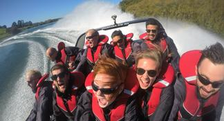 Taupo Adventure Combo: Jet Boat Ride and Whitewater Rafting