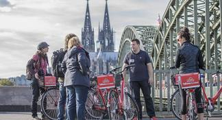 Small-Group Bike Tour of Cologne with Guide