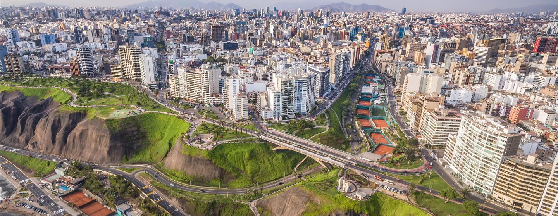 Autonvuokraukset Lima J Chavez Intl lentokenttä