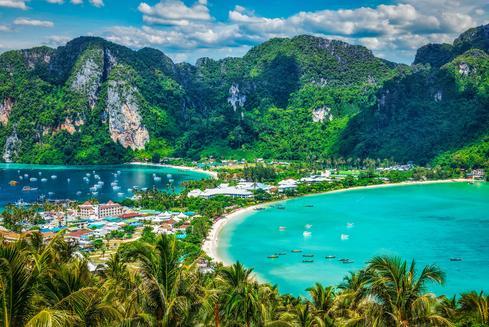 ข้อเสนอสำหรับโรงแรมใน เกาะพีพี