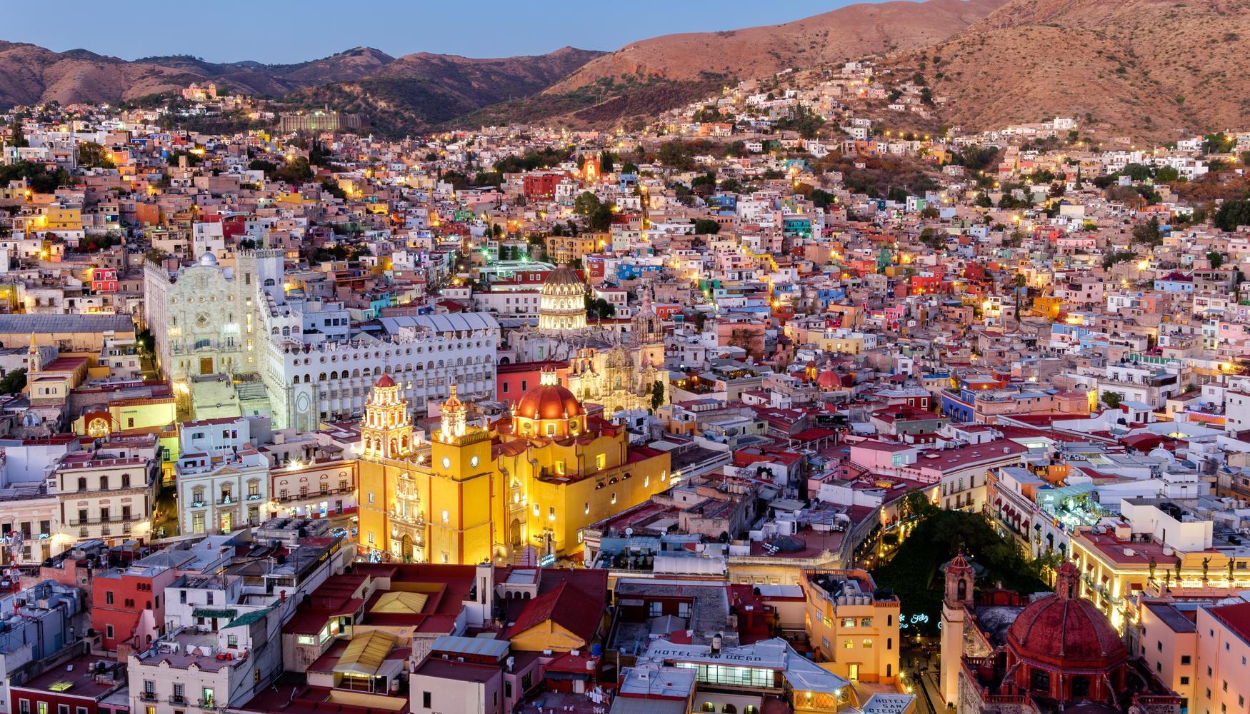Guanajuato es uno de los centros históricos de los españoles fundado en el siglo XV.