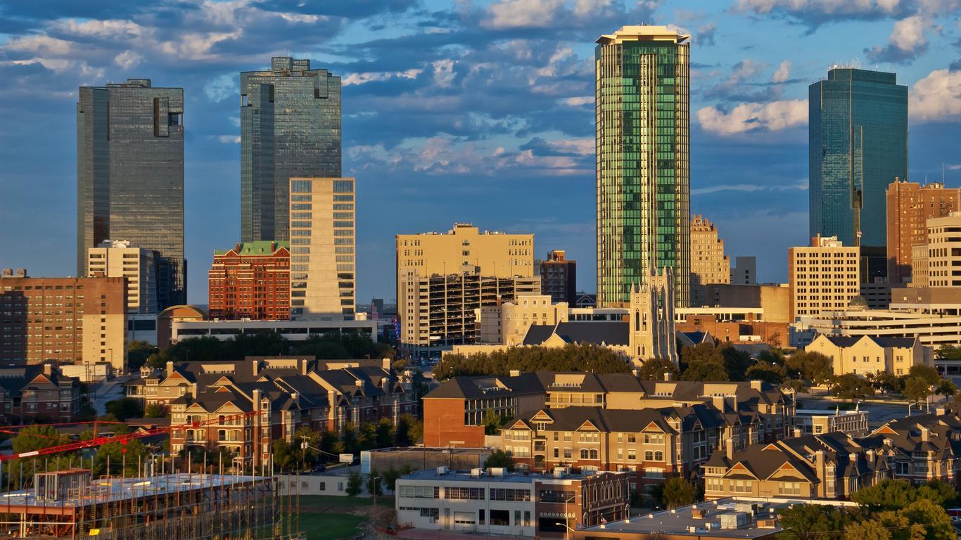 Alquiler de autos en Fort Worth