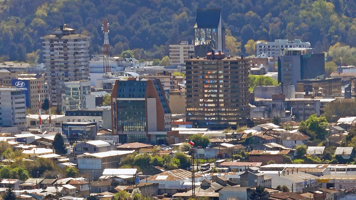 Coches de alquiler en Temuco