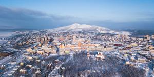 Leiebiler i Kiruna