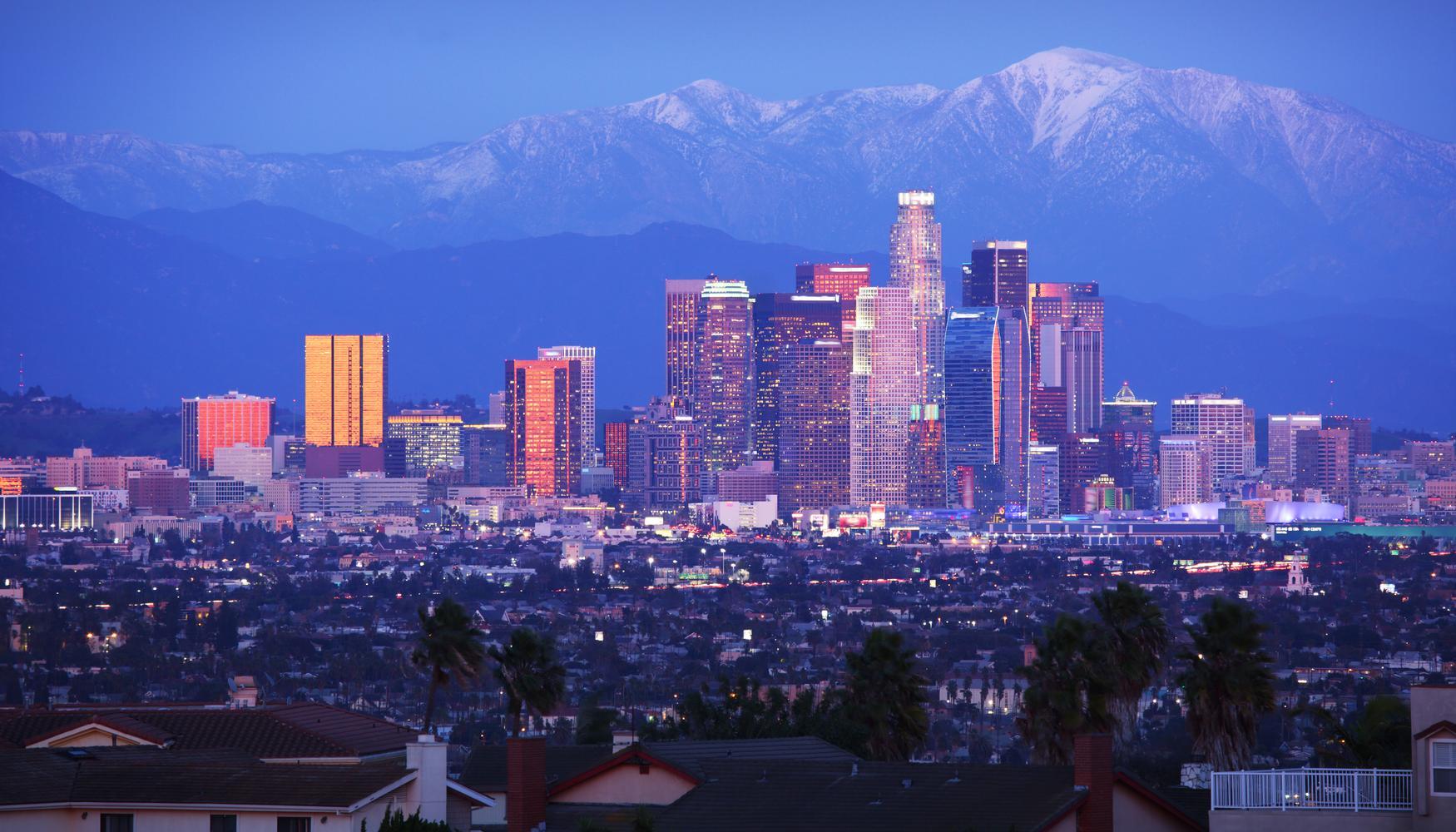 Car hire at Los Angeles Airport