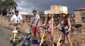 Santo Domingo old Town by Trikke