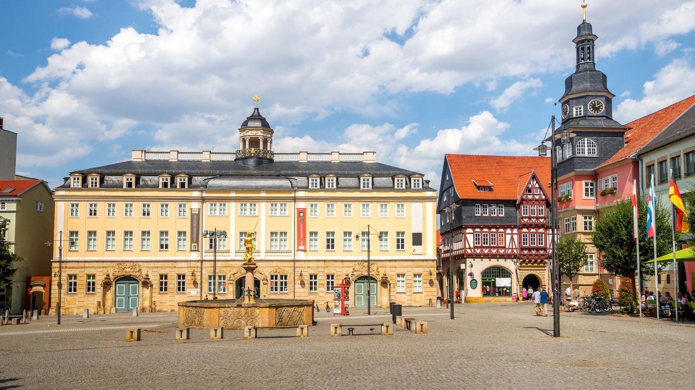 Eisenach autoverhuur