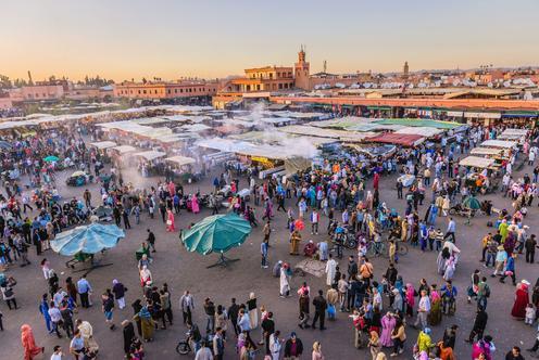 Erbjudanden på hotell i Marrakech