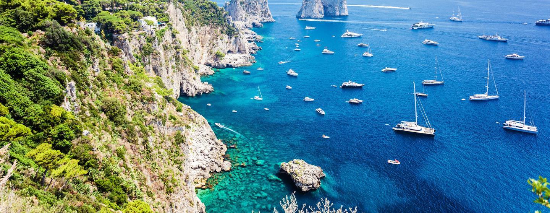 Strandhotell i Capri