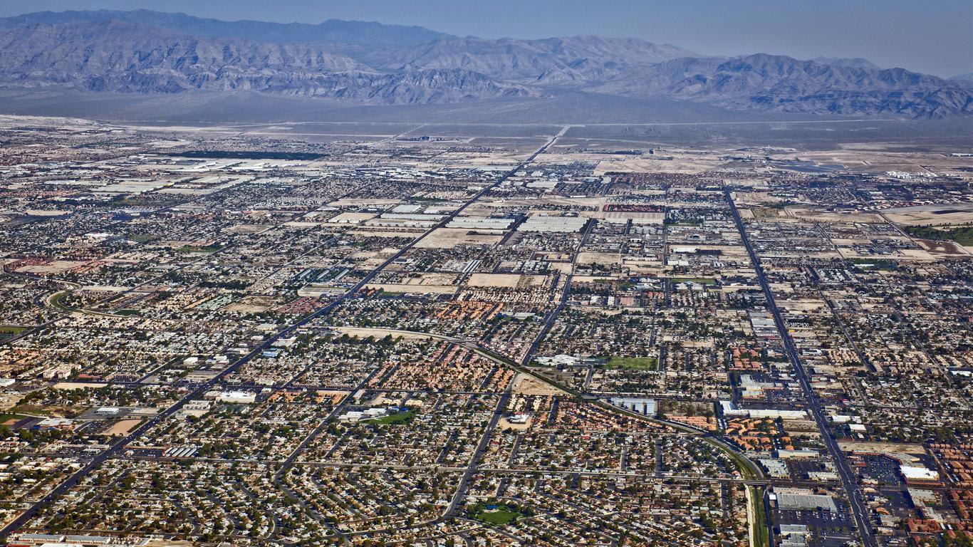 North Las Vegas autoverhuur