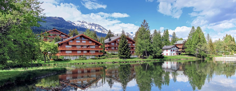Spa-hotell i Crans-Montana