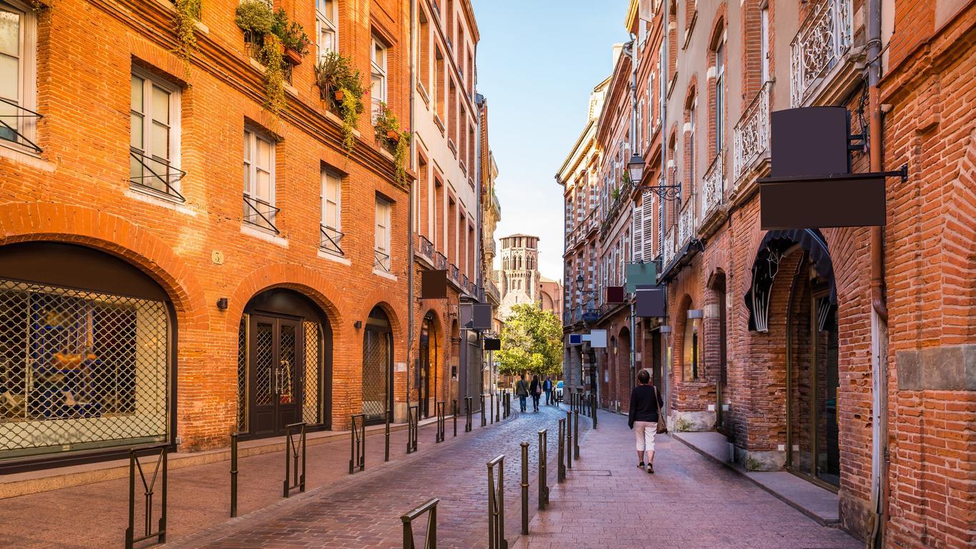 Pronájem aut Toulouse
