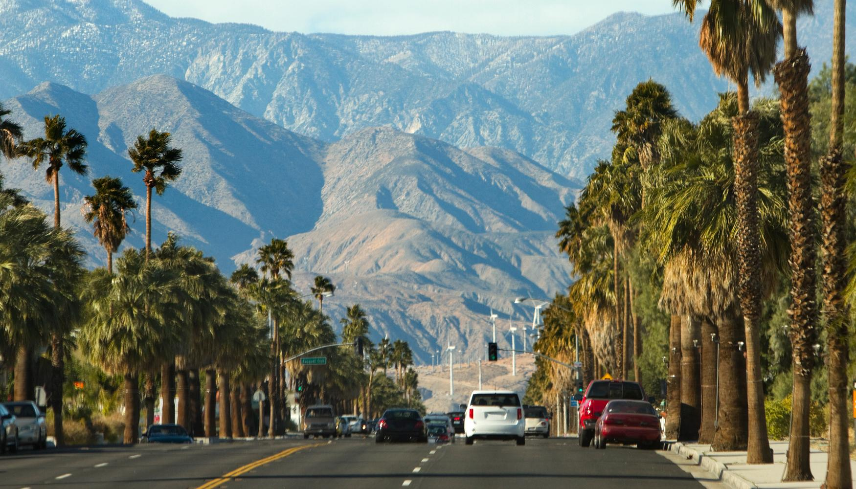 Car rental at Palm Springs Airport