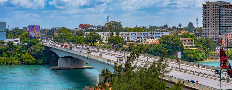 Spa-hotell i Mombasa