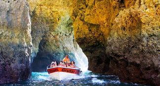 Benagil Caves Tour from Portimao