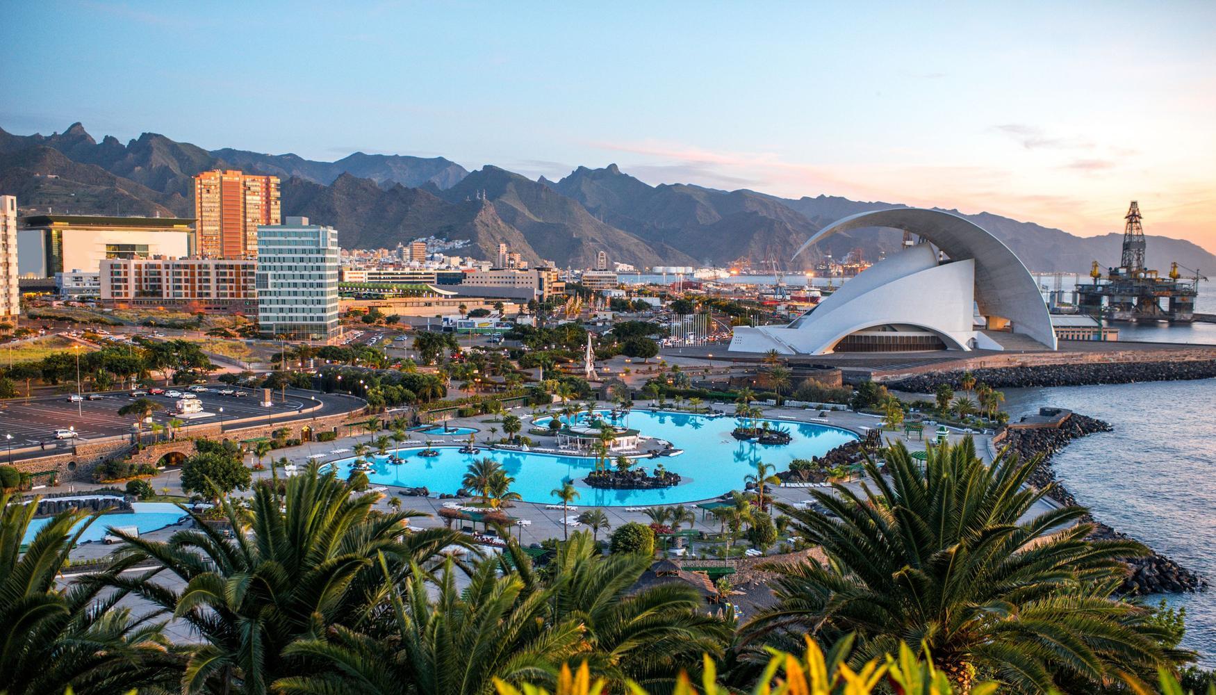 Billeje i Santa Cruz de Tenerife Tenerife Nord Lufthavn