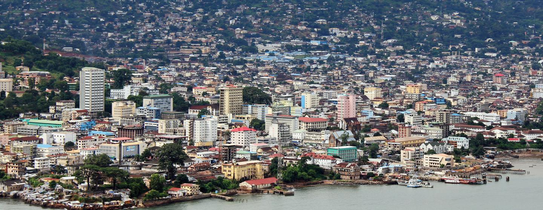 Autonvuokraukset Freetown Lungi Intl lentokenttä