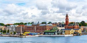 Hyrbil i Helsingborg